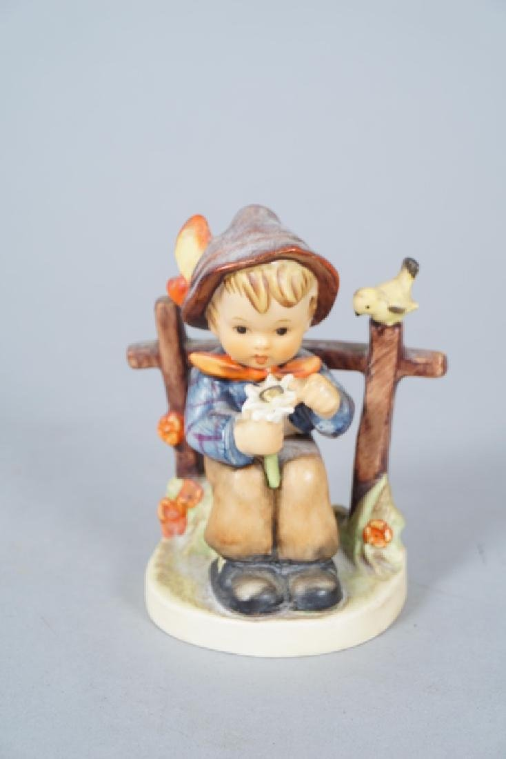 Three Hummel German Porcelain Figurines - 5