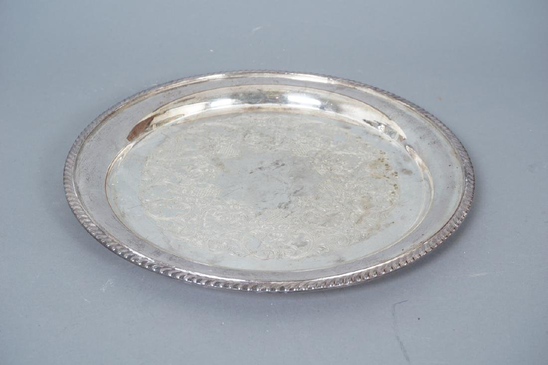 Collection of Silver Plate & Sterling Serving Item - 10
