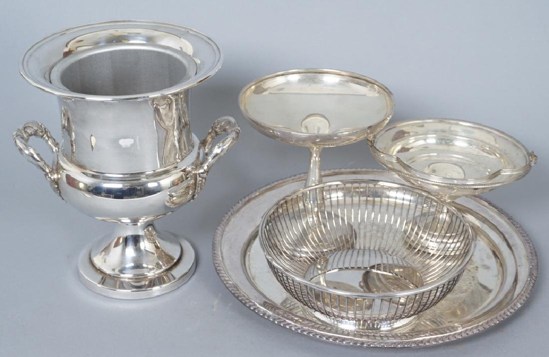 Collection of Silver Plate & Sterling Serving Item