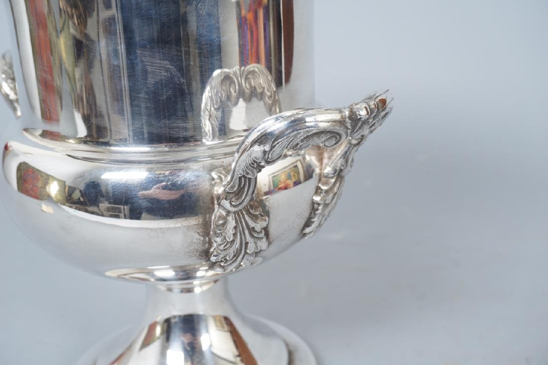 Collection of Silver Plate & Sterling Serving Item - 9