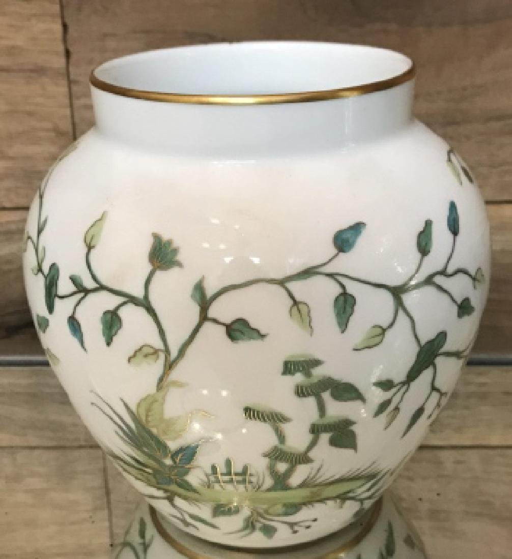 Tiffany & Co Private Stock Hand Painted Vase