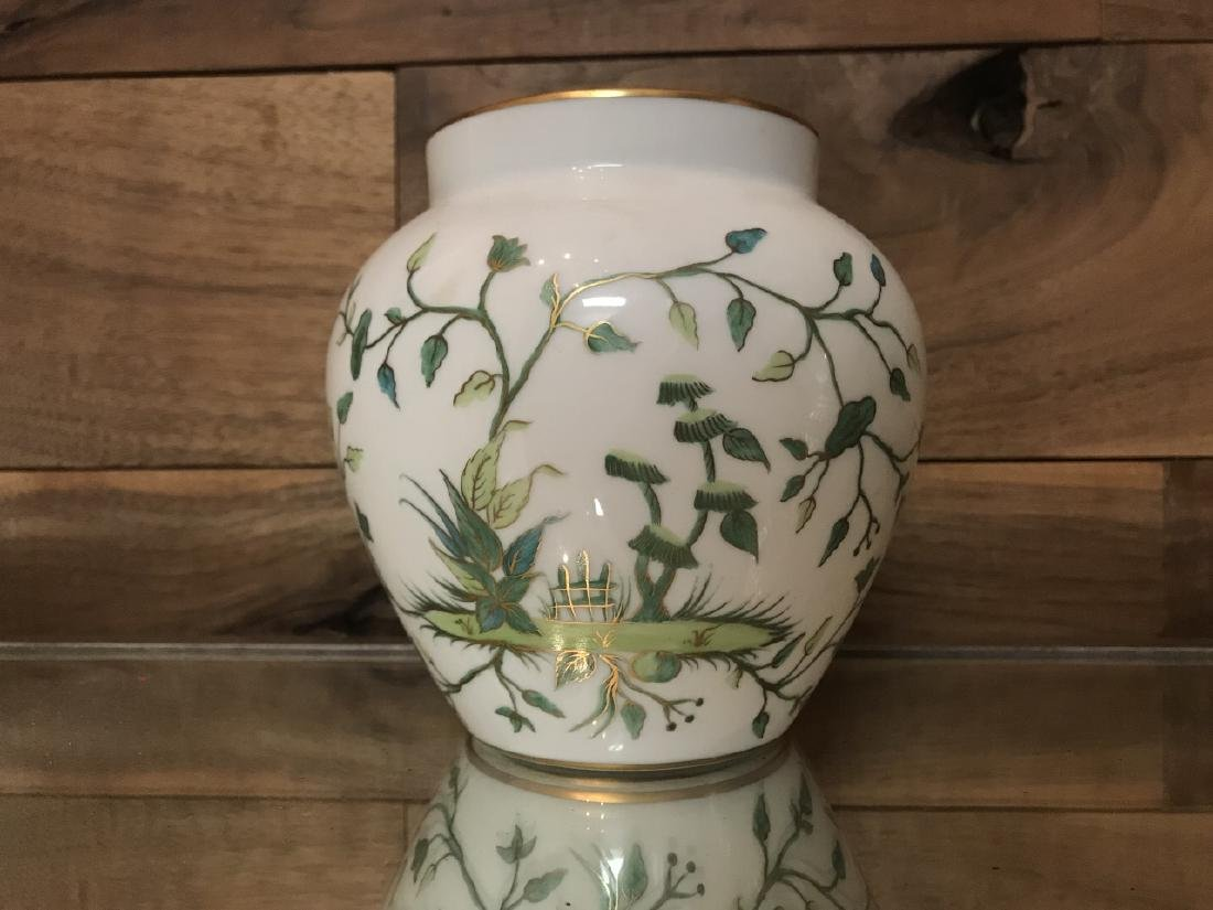 Tiffany & Co Private Stock Hand Painted Vase - 2