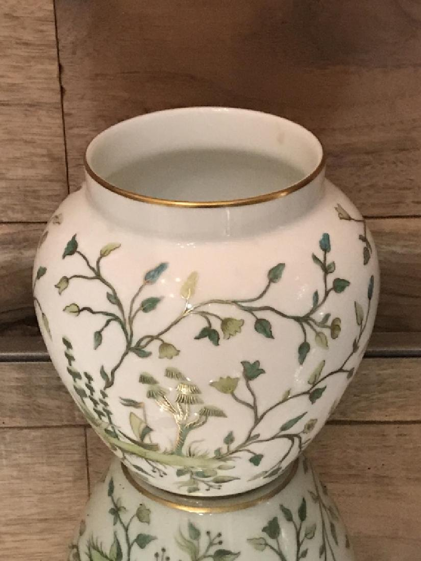 Tiffany & Co Private Stock Hand Painted Vase - 3
