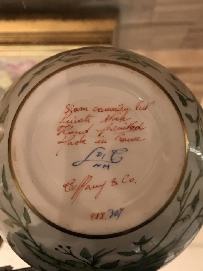 Tiffany & Co Private Stock Hand Painted Vase - 4