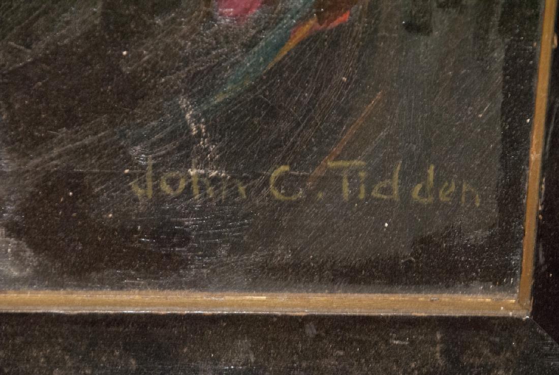 Original Signed Oil on Canvas Still Life Painting - 4