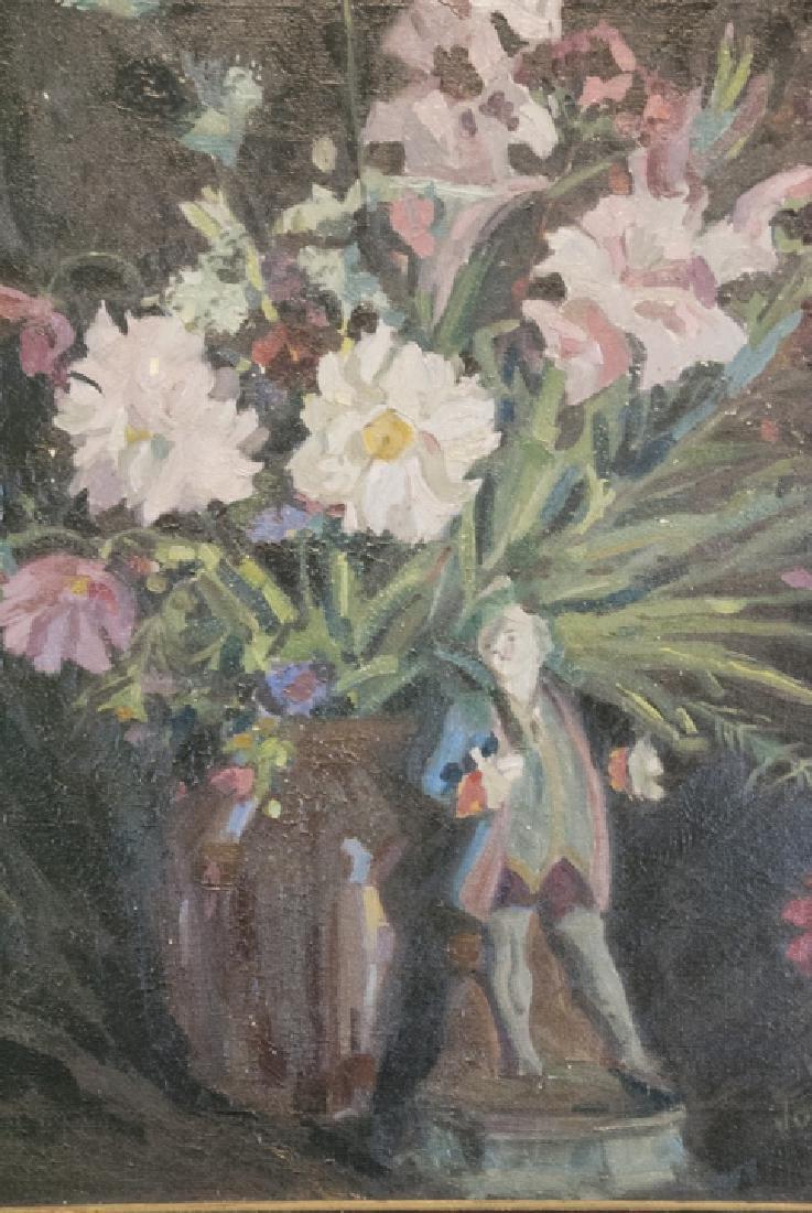 Original Signed Oil on Canvas Still Life Painting - 7