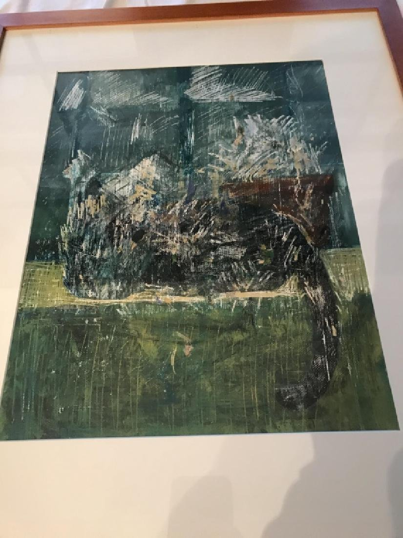 Contemporary Modern Abstract School Painting - 2