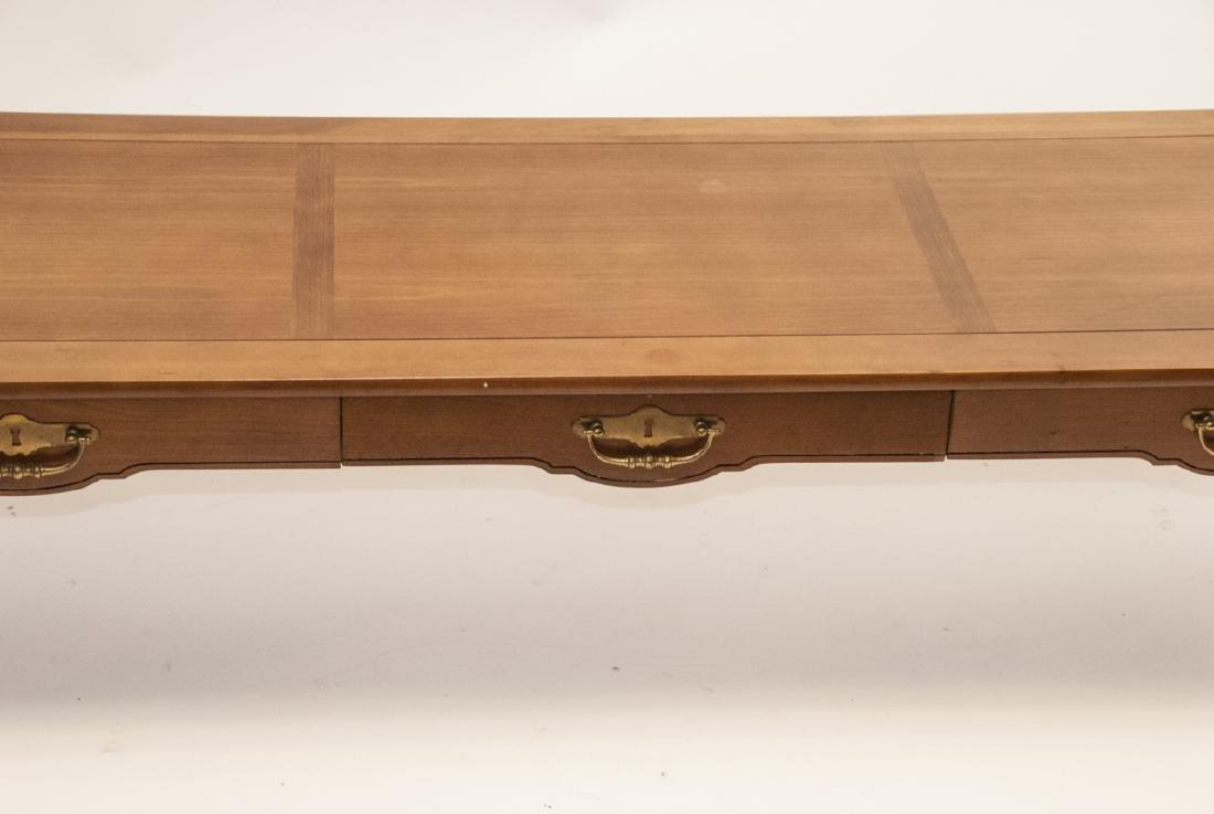 American Federal Style Oak Coffee Table - 3