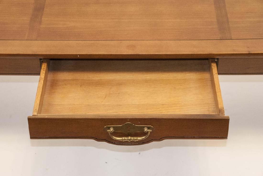 American Federal Style Oak Coffee Table - 6