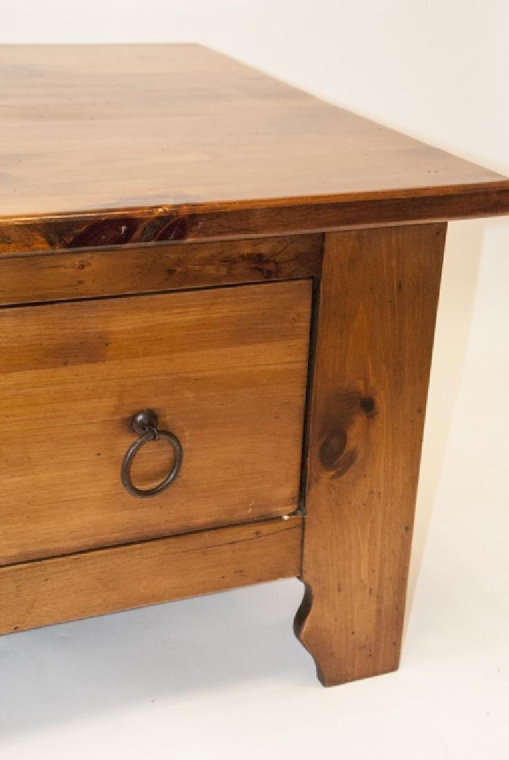 Pine Rustic Coffee Table - 2