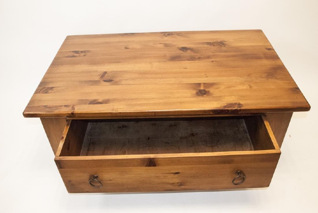 Pine Rustic Coffee Table - 3