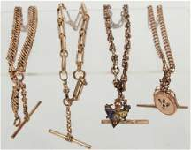 Antique 19th C Gold Filled Collection of Jewelry