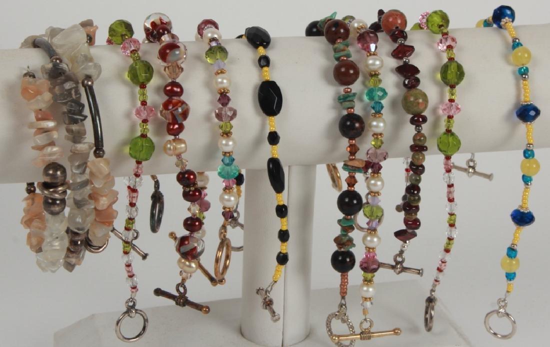 Vintage Costume Jewelry Pieces & Parts Lot