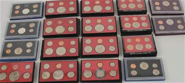 Collection United States Mint Proof Sets 1969-85