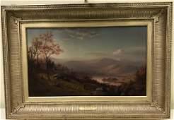 John Henry Witt Autumn Landscape Oil Painting