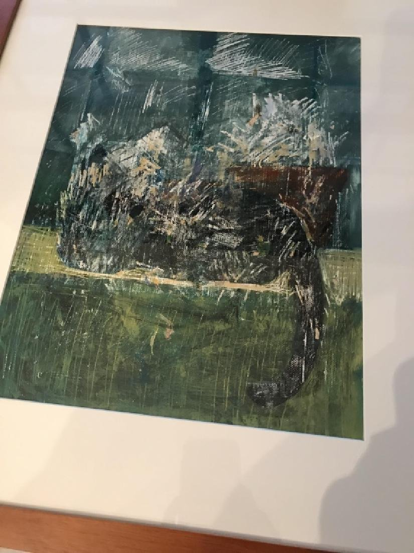 Contemporary Modern Abstract School Painting - 3