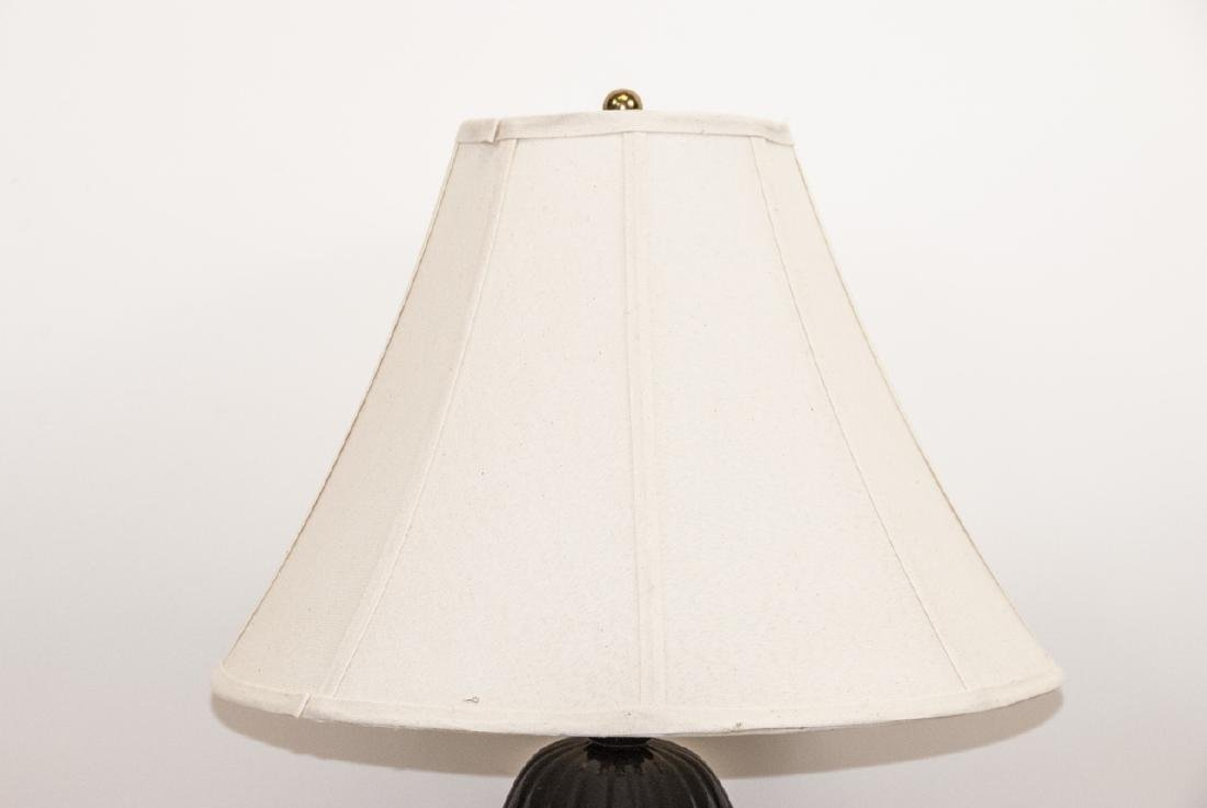 Mid C Modern Ceramic Table Lamp W Shade - 7