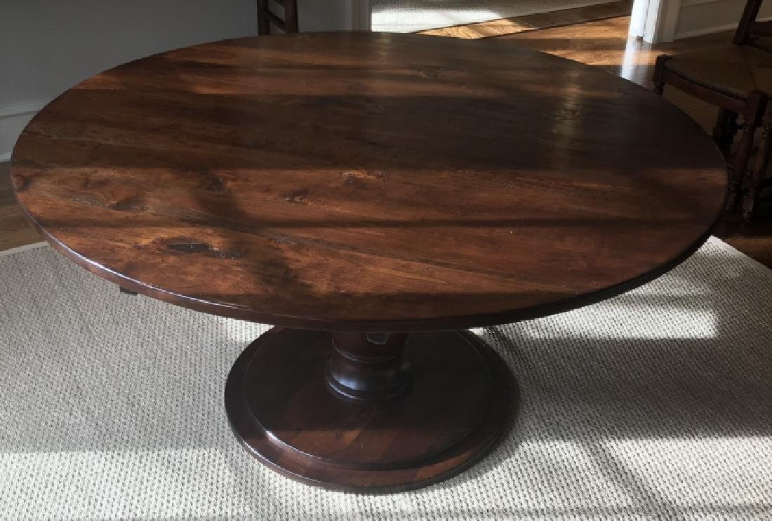 Custom Made French Country Style Dining Table - 2