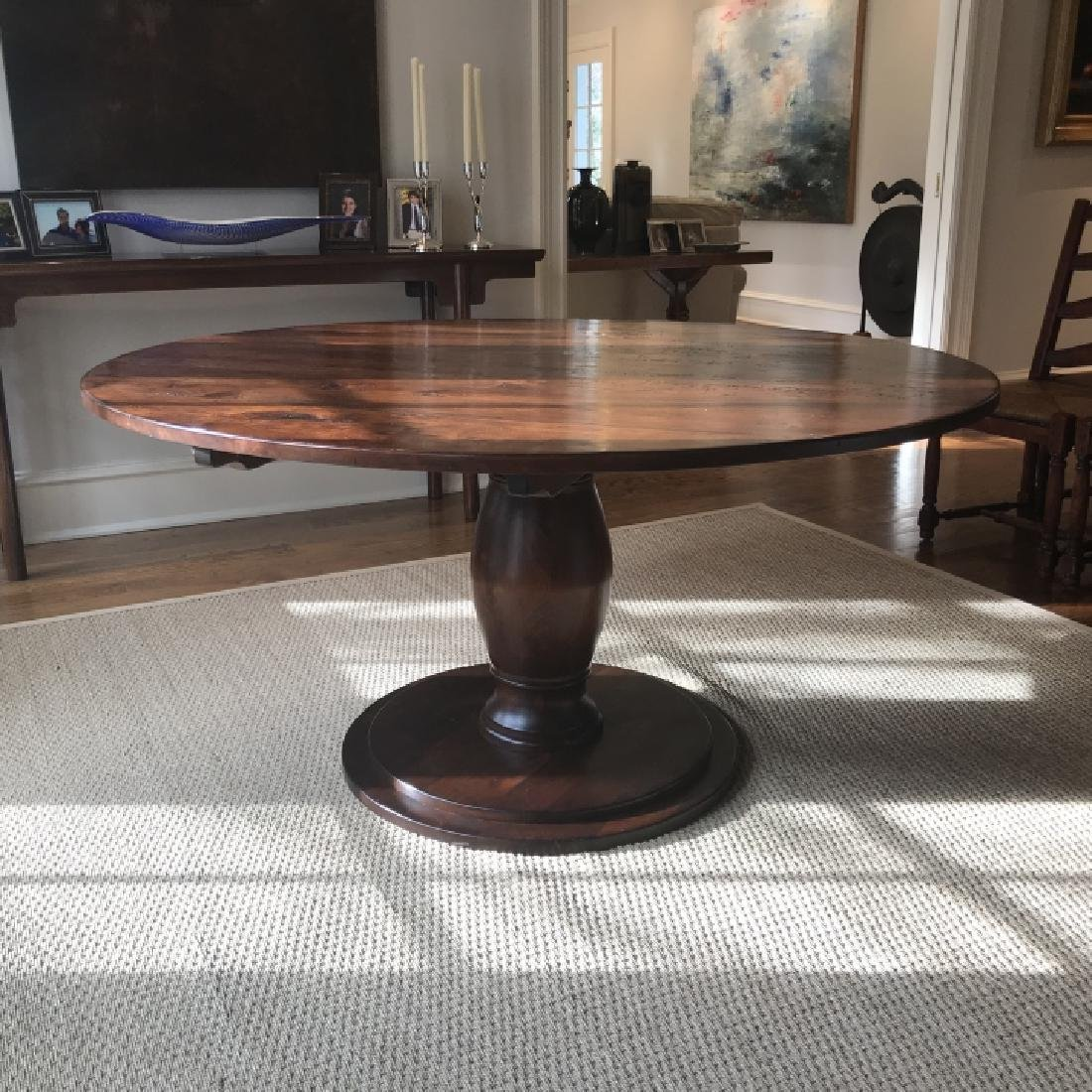Custom Made French Country Style Dining Table - 5