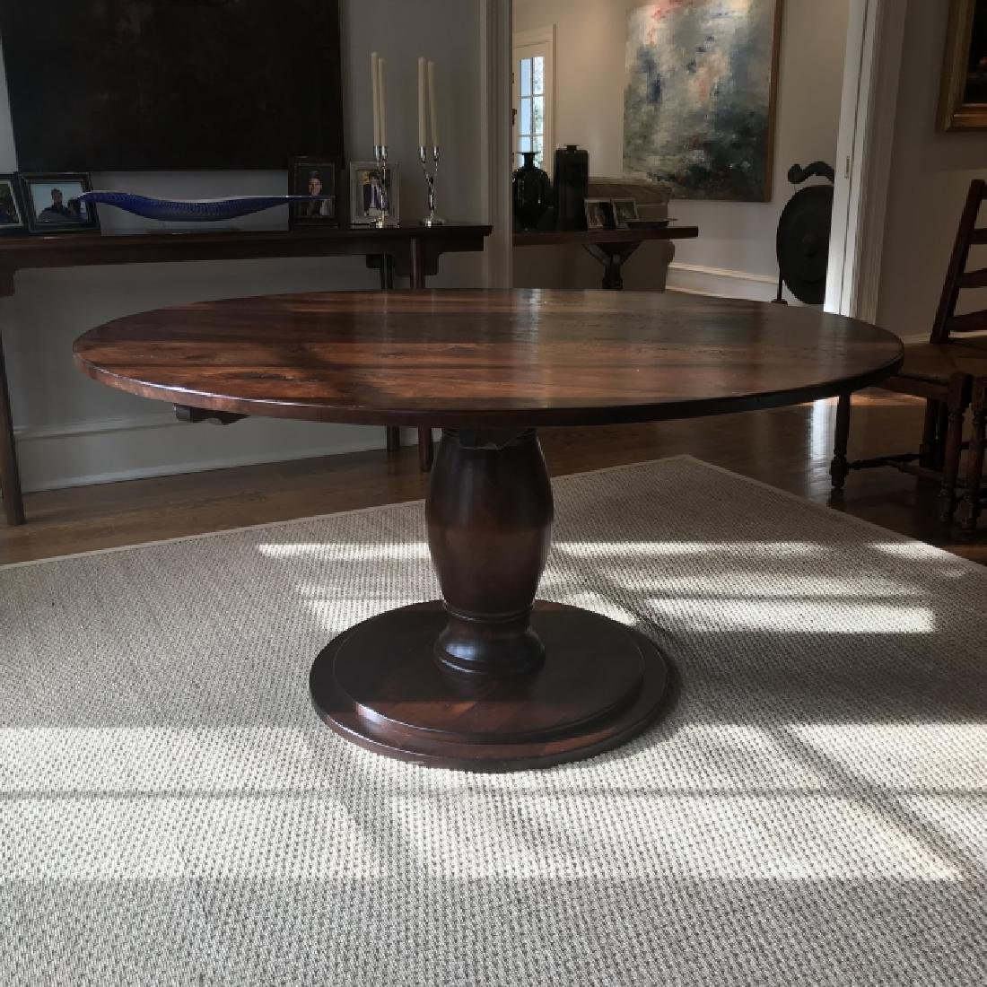 Custom Made French Country Style Dining Table - 6