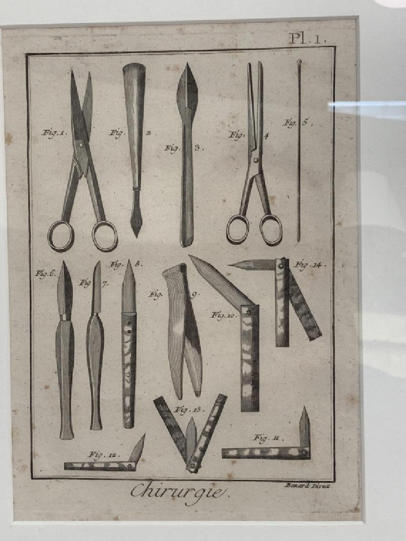 Pair Antique French Surgical / Medical Engravings - 4