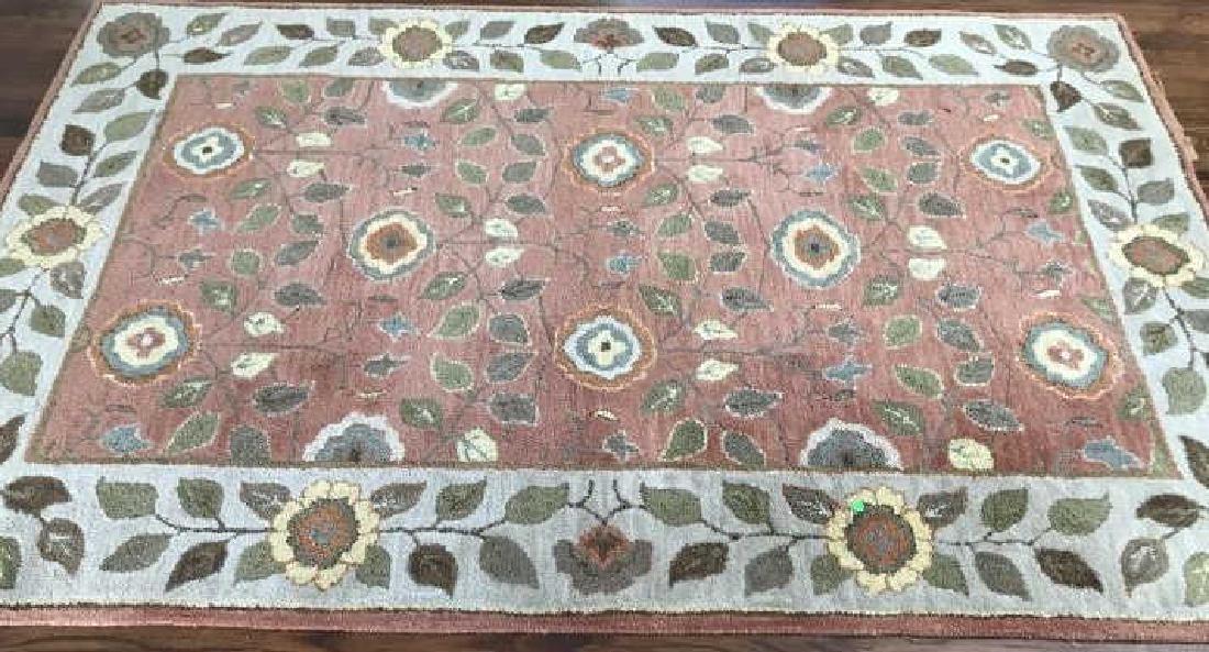 Contemporary Oriental / Persian Style Throw Rug