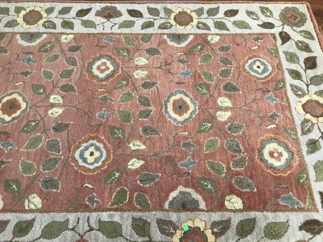 Contemporary Oriental / Persian Style Throw Rug - 3