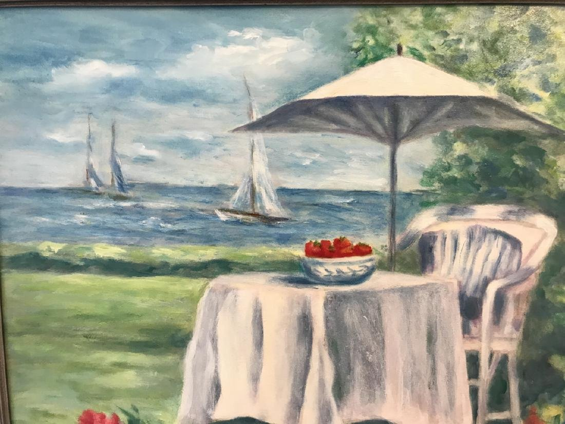 Contemporary Beach / Coastal Scene Oil Painting - 2