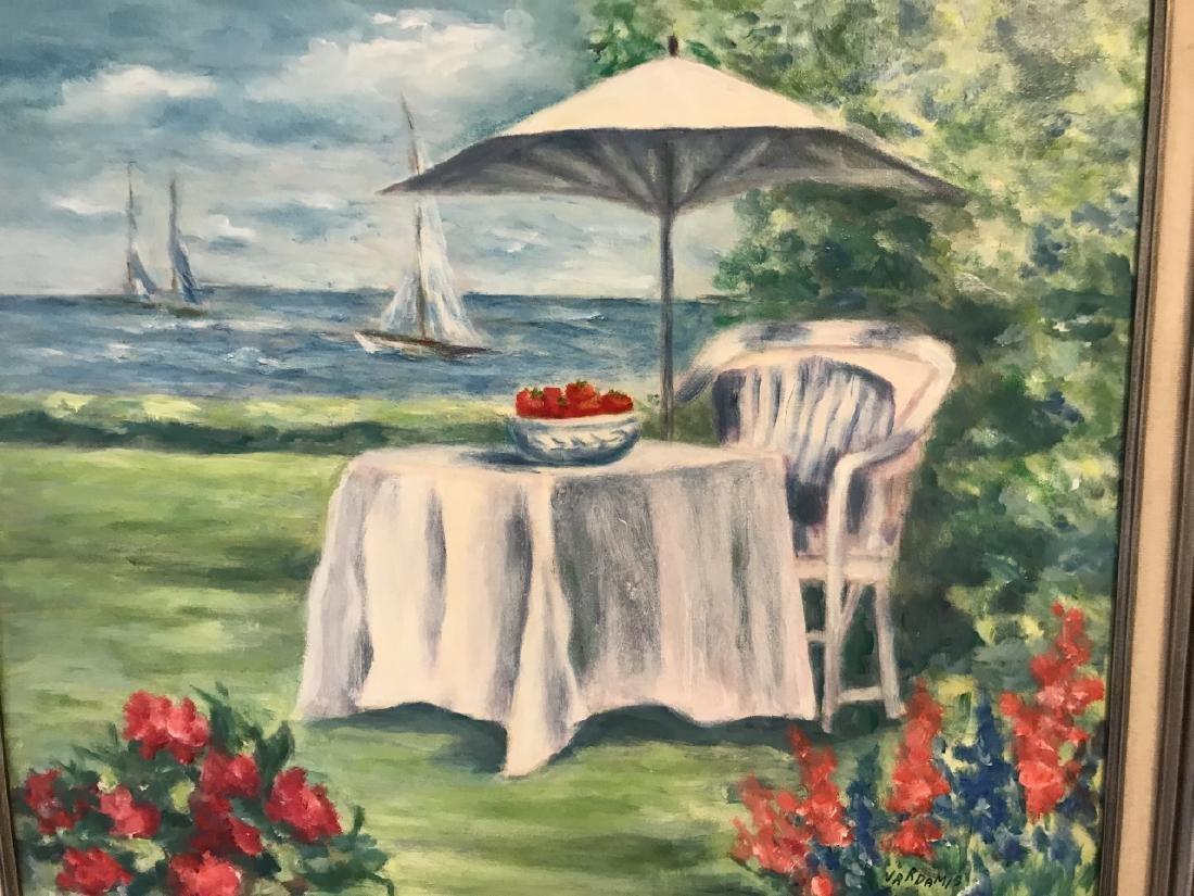 Contemporary Beach / Coastal Scene Oil Painting - 3
