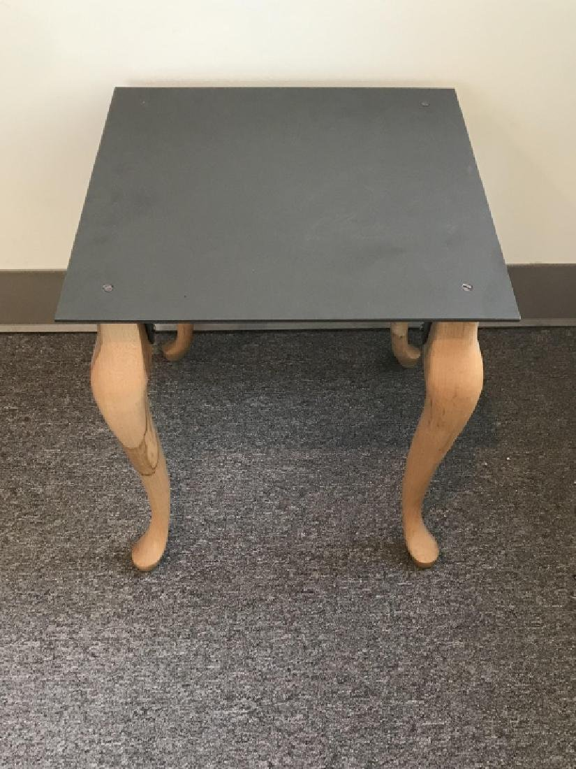 Contemporary End / Side Table W Cabriole Legs - 4