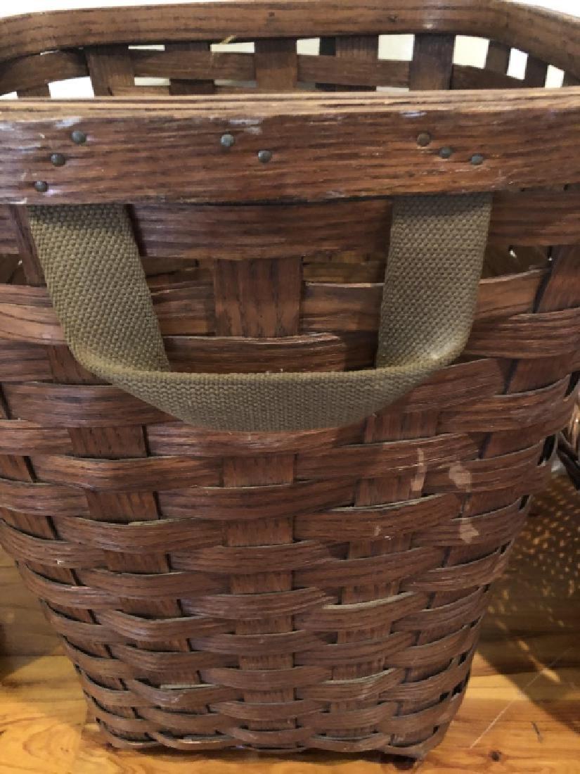 4 Vintage and Antique Baskets - 2