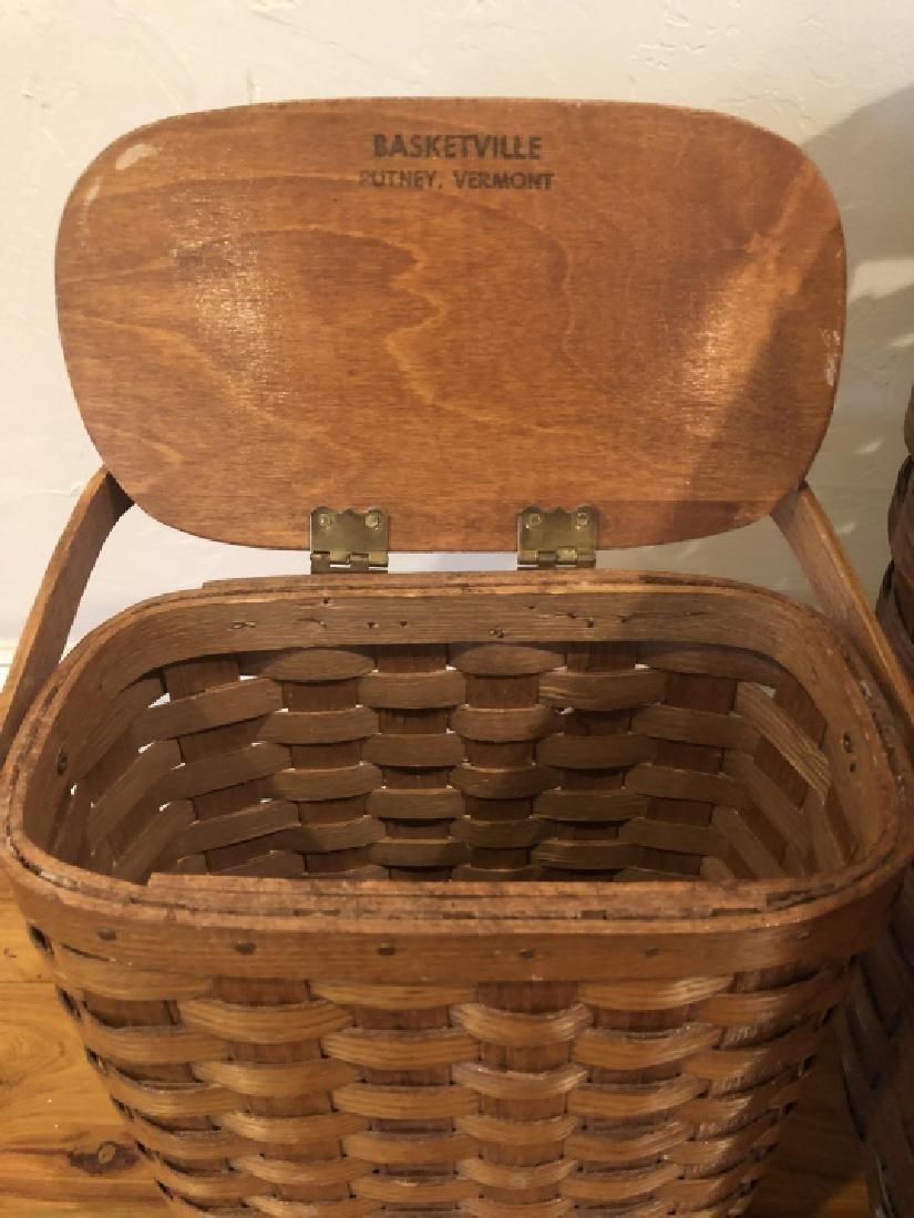 4 Vintage and Antique Baskets - 3