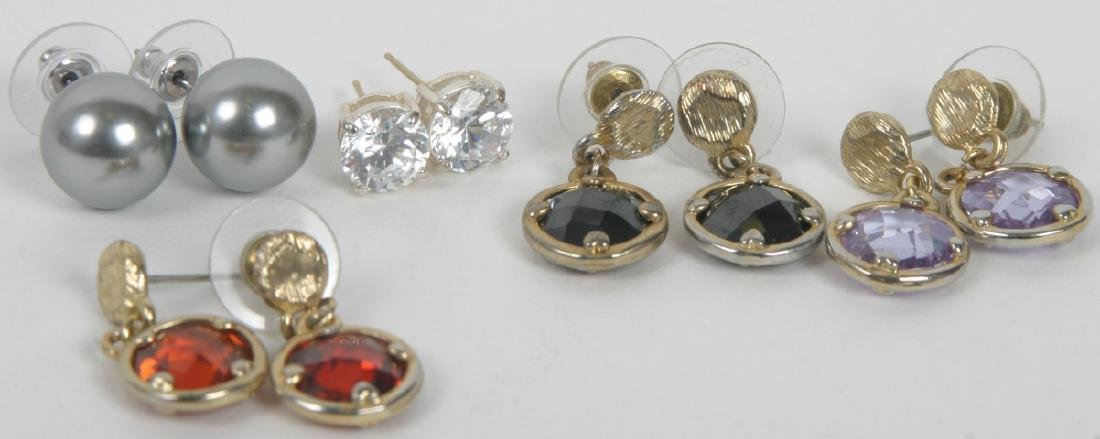 Collection of Costume Jewelry Earrings