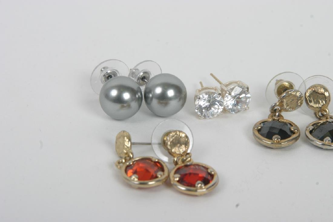 Collection of Costume Jewelry Earrings - 2