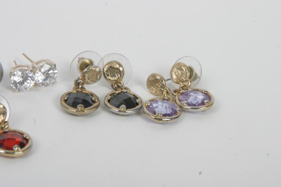 Collection of Costume Jewelry Earrings - 3
