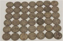 Collection of Silver Jefferson Wartime Nickels