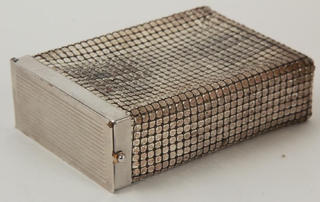 Vintage Cigarette Case Whiting & Davis Style Mesh