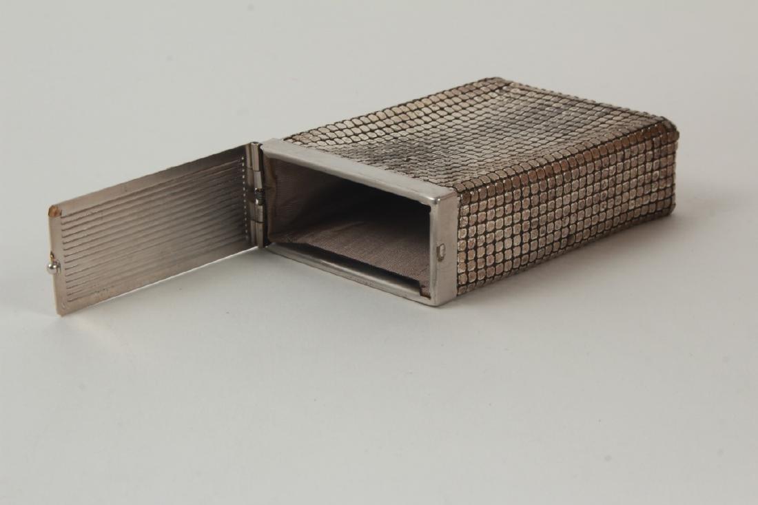 Vintage Cigarette Case Whiting & Davis Style Mesh - 2