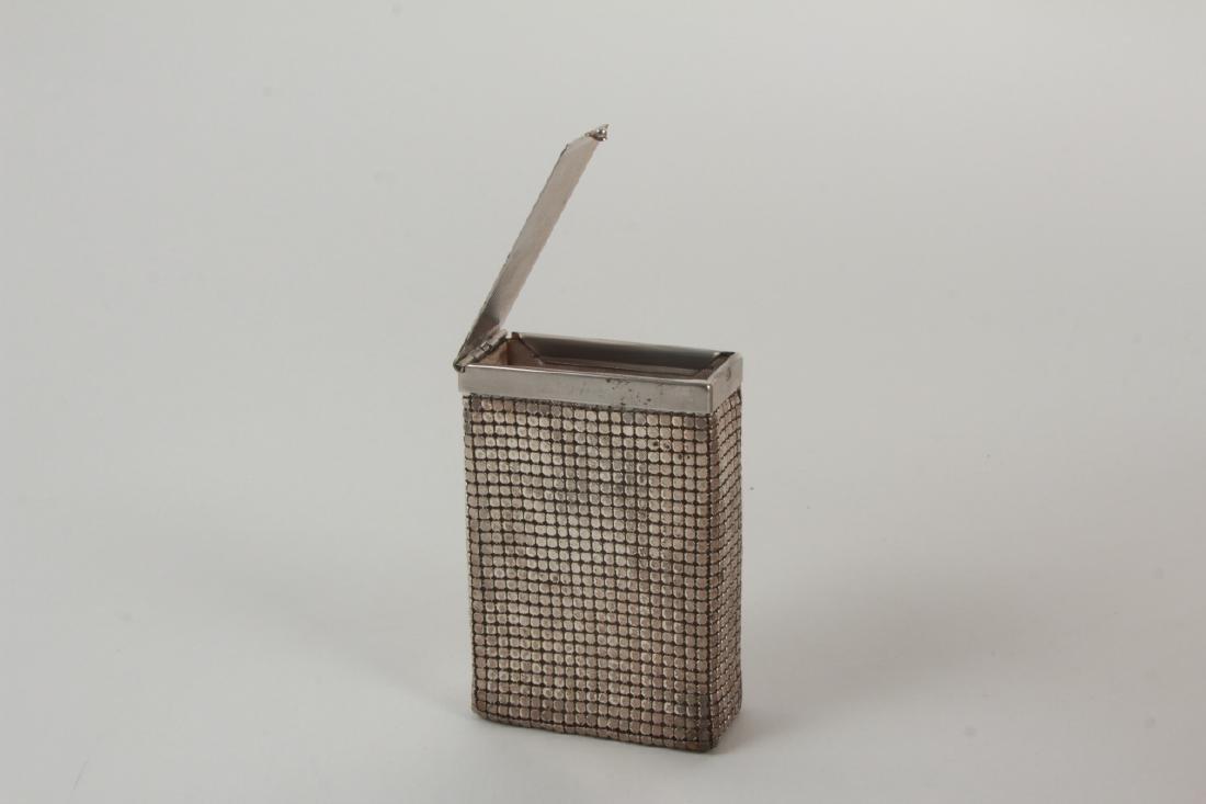 Vintage Cigarette Case Whiting & Davis Style Mesh - 3
