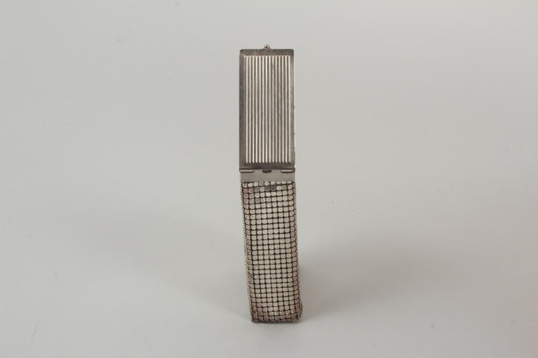 Vintage Cigarette Case Whiting & Davis Style Mesh - 4