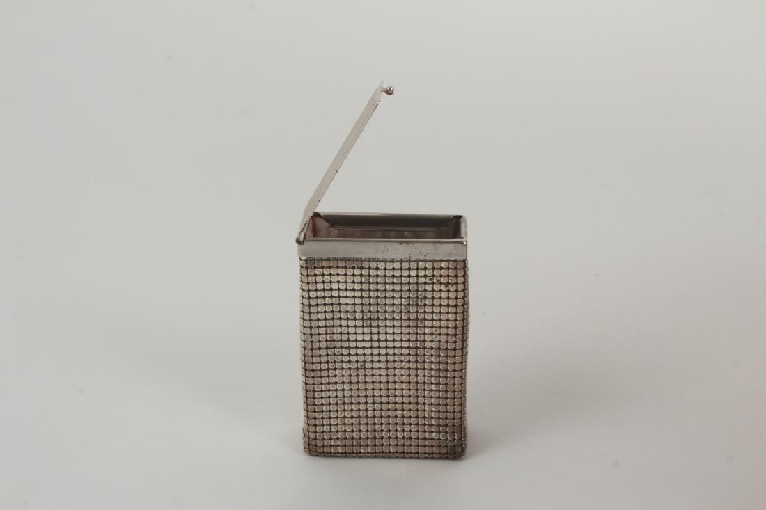 Vintage Cigarette Case Whiting & Davis Style Mesh - 5