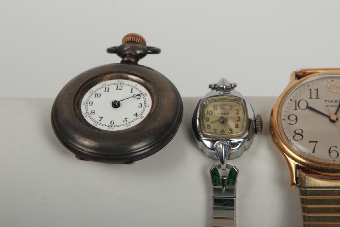 Antique Pocket Watch & Three Vintage Watches - 2