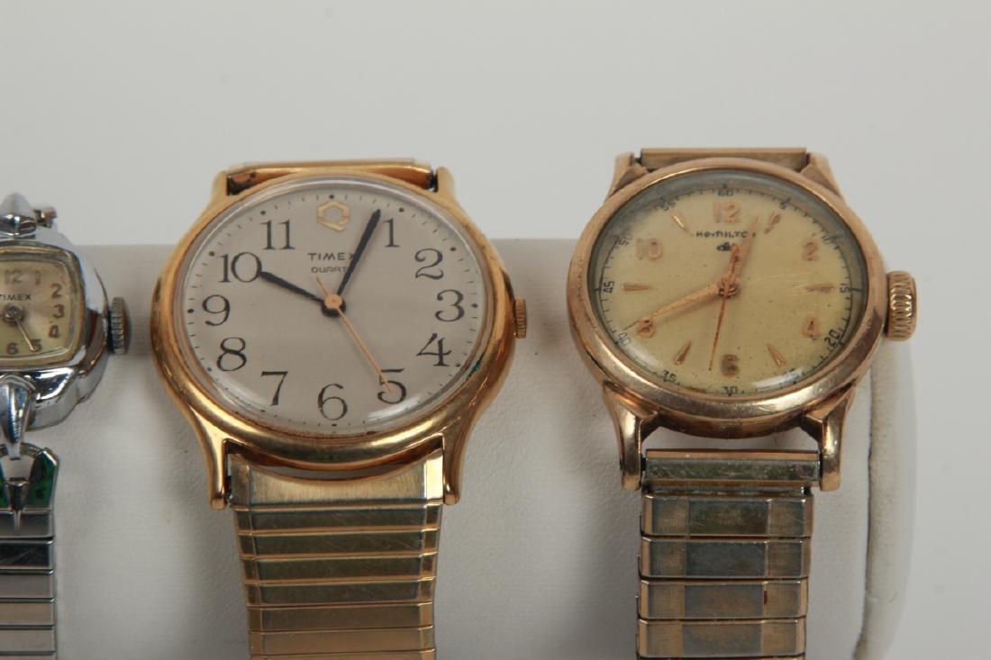 Antique Pocket Watch & Three Vintage Watches - 3