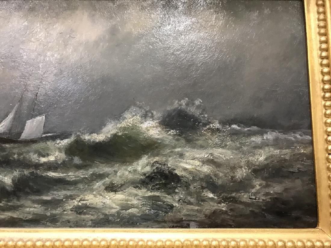 Otis Weber Oil Painting on Canvas Marine Painting - 5