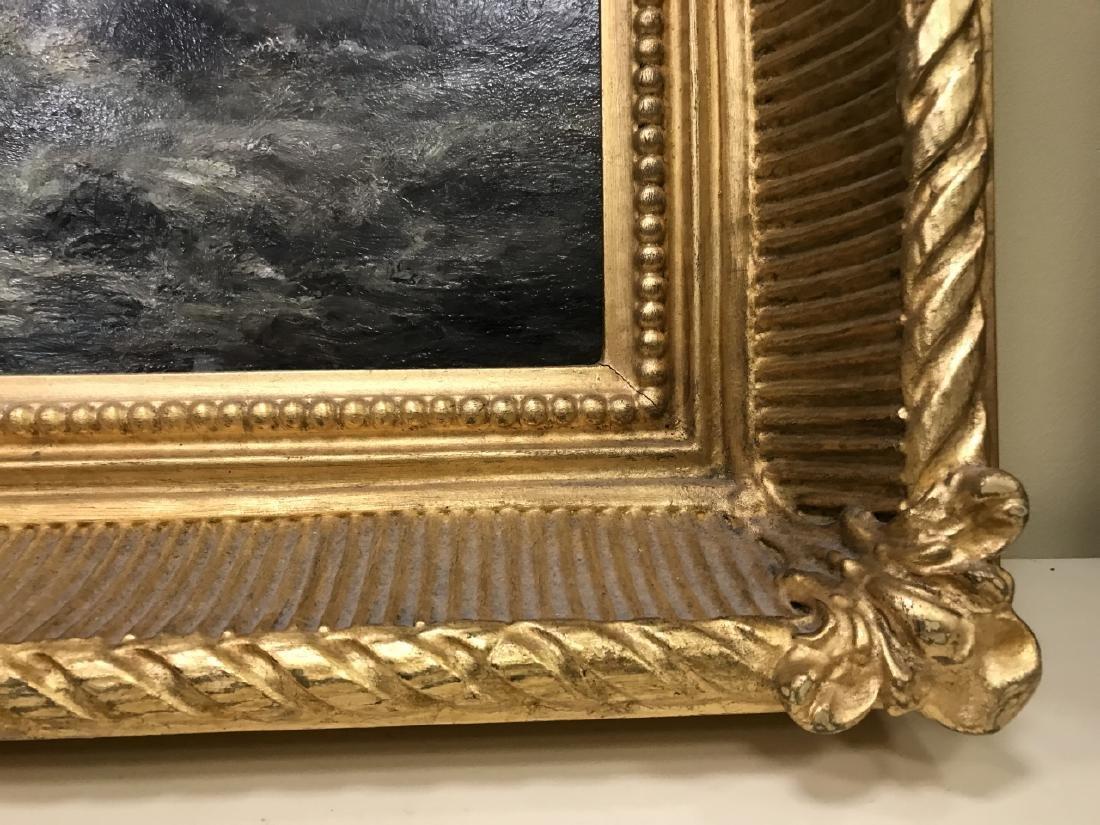 Otis Weber Oil Painting on Canvas Marine Painting - 6