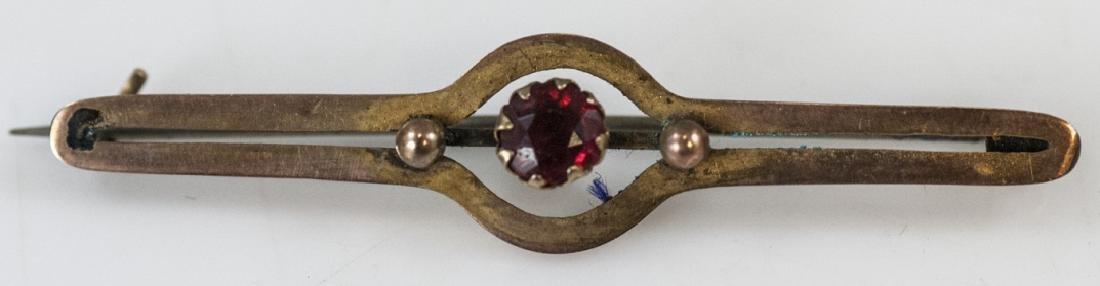 Antique 19th C Victorian Bar Pin / Brooch