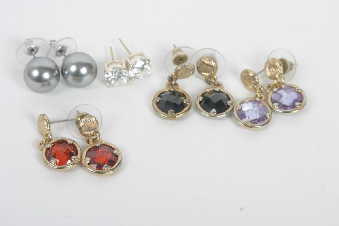 Collection of Costume Jewelry Earrings - 4