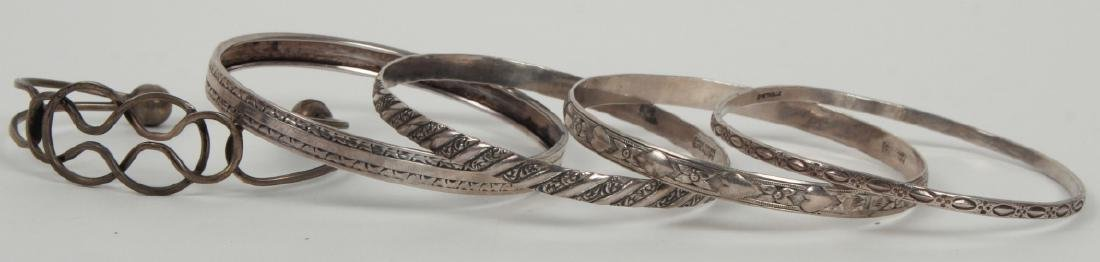 Collection Sterling Silver Bangle & Cuff Bracelets
