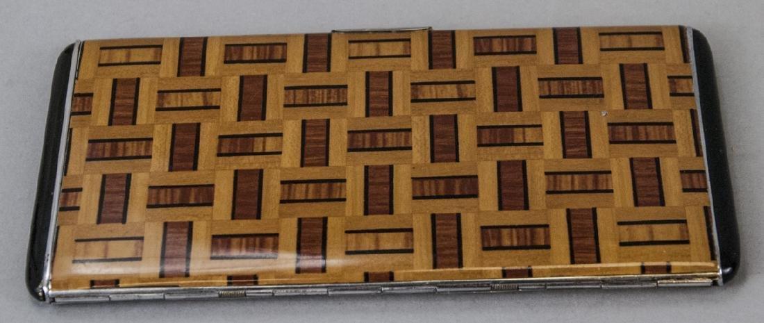 Vintage Art Deco Enameled Cigarette Case