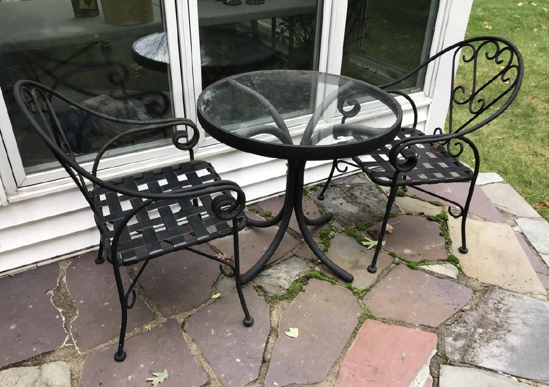 Garden / Patio / Outdoor Bistro Table & Chair Set